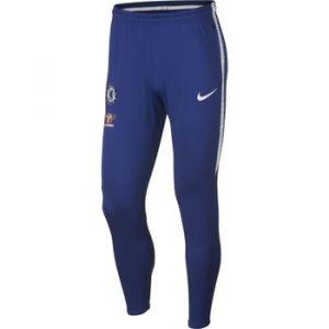 Nike Pantalon de football Chelsea FC Dri-FIT Squad pour Homme - Bleu - Taille XL