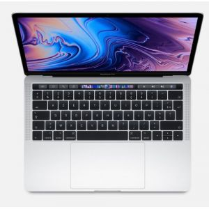 Apple MacBook Pro 13.3'' Touch Bar 512 Go SSD 8 Go RAM Intel Core i5 quadricoeur à 2.4 GHz Argent