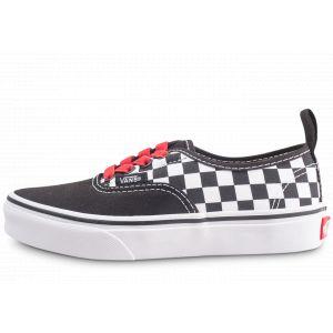 Vans Authentic Damier Noire Et Rouge Enfant Baskets/Skate Enfant