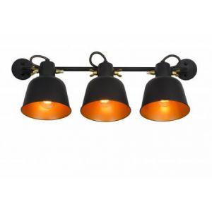 Lucide Applique industrielle Pia Noir Métal 45280/03/30