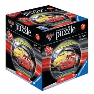 Ravensburger Cars 3 - Puzzle ball 54 pièces
