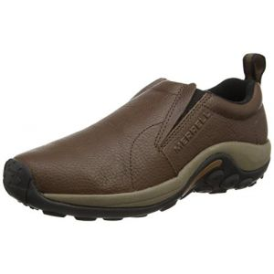 Merrell Jungle Moc, Mocassins homme - Marron (Black Slate), 42 EU