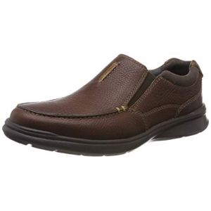 Clarks Cotrell Free, Mocassins Homme, Marron (Tobacco Leather-), 42 EU