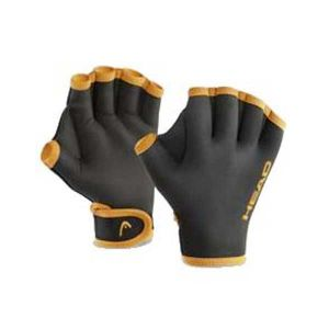 Head Swim Gloves - orange/noir M Gants natation