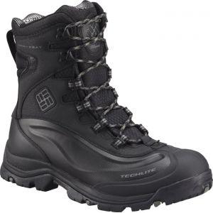 Columbia Bugaboot Plus III Boots Omni-HEAT Men, black / charcoal EU 41 Chaussures trekking & randonnée