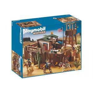Image de Playmobil 5245 Western - Grand fort des soldats américains