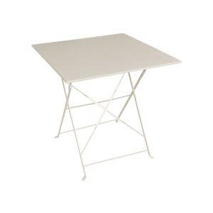 Hesperide Camargue - Table de jardin carrée pliante 70 x 70 cm