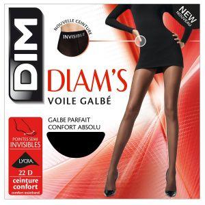 DIM Diam's Voile Galbé - Collants - 22 deniers - Femme - Noir - 4