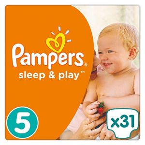 Pampers Sleep & Play taille 5 (11-23 kg) - 31 couches
