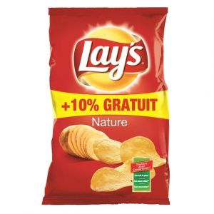 Lay's Chips nature - Le paquet de 300g + 10% gratuit