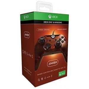 PDP Manette filaire pour Xbox One/S/X/PC - orange
