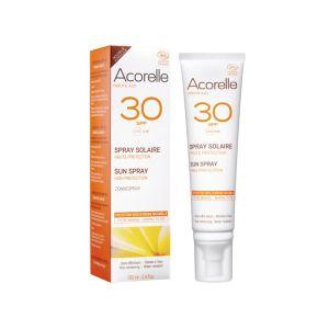 Acorelle Spray solaire haute protection SPF30