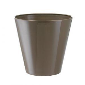 Herstera 09743 Cache-Pot avec réserve d'eau 20x19x10 cm Brun