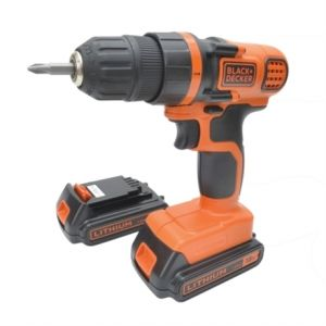 Black & Decker EGBL18KB - Perceuse sans fil 18V