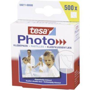 Tesa 56611-00000-00 - Photo pastilles adhésives pour photos, blanc, fixation