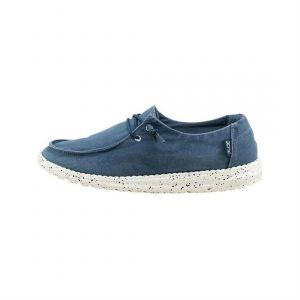 Dude Ville basse WENDY W Chaussures bleu - Taille 37,38,39,40,41