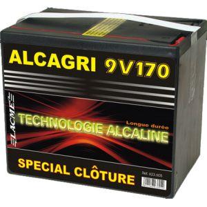 Lacme Pile Alcagri 9V 170 Ah alcaline spéciale clôture électrique