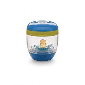 Nuvita 1556 Melly Plus Stérilisateur Portable UV pour Tétine de Biberon et Sucette Bébé - Boite de Stérilisation Sucettes Nomade Voyage - Sans BPA - Marque EU