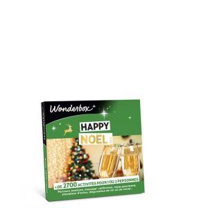 Wonderbox Coffret Cadeau Happy Noël Gold