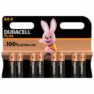 Duracell Pile AA X8 PLUS