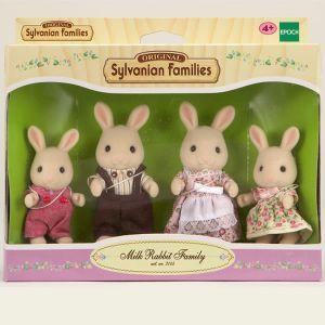 Epoch Sylvanian Families 3144 - Famille Lapin crème
