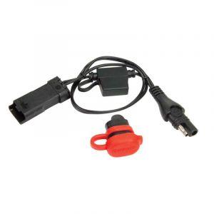 TecMate Accessoire Chargeur moto - 0- 47 - Adaptateur ducati ( a placer entre la prise constructeur sous selle et l'Optimate)