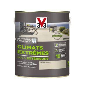 V33 Peinture sol climats extrêmes satin pierre 500 ml