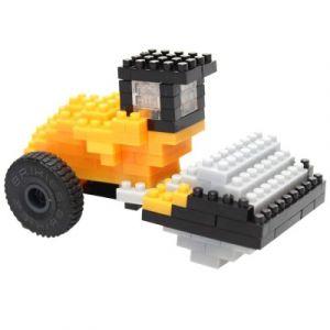Brixies Nano Puzzle 3D - Rouleau Compresseur JCB