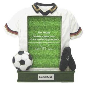 Cadre photo Fun Frame Football 10x15 en plastique