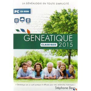 Généatique Classique 2015 [Windows]