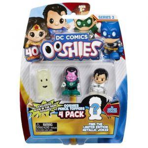 Vivid DC Comics Ooshies Pack de 4 - Mix 1