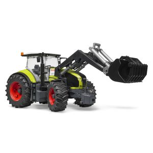Bruder Toys 3013 - Tracteur Claas Axion 950 Avec Chargeur Frontal
