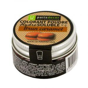 Patisdécor Colorant poudre - brun caramel - 8 g