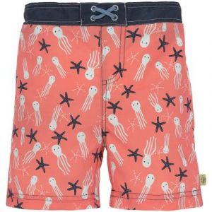 Lässig Maillot de bain short Splash & Fun étoiles de mer corail (6 mois)
