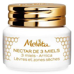 Melvita Nectar de 3 Miels - Baume lèvres