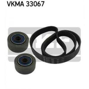 SKF Kit de courroies d'accessoires VKMA33067