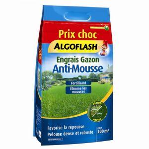 Algoflash Engrais Gazon Anti Mousse 6 kg