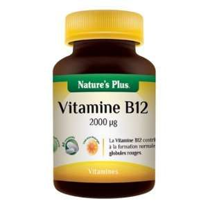 Nature's Plus Vitamine B12 60 comprimés