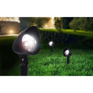 Globo Lighting lampe solaire Globo Noir, 3 lumières - Moderne/Jeune - Extérieur - Globo