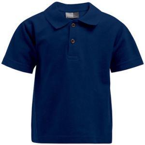Promodoro Premium Polo Enfants, 140, bleu marine