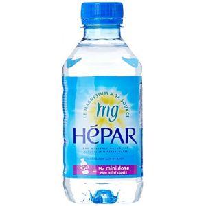 Hépar Eau minérale naturelle - Les 8 bouteilles de 33cl