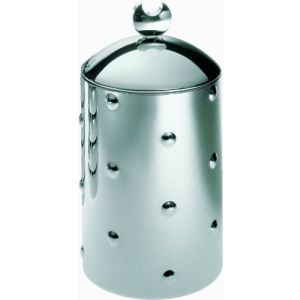 Alessi CB01 - Boîte de cuisine Kalisto' 1 en inox avec bouton en aluminium