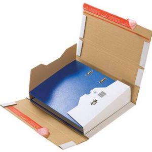 Mailmedia CP 055.51 - Carton d'expédition pour classeur, blanc, pour