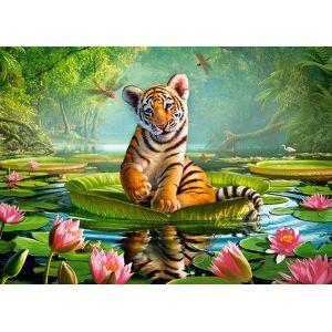 Castorland Tiger Lily - Puzzle 120 pièces