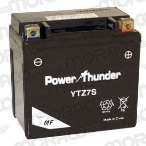 Power Thunder Batterie YTZ7S GEL