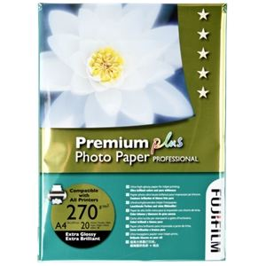 Papeteries de France 20 feuilles Fuji Premium Plus 270g (A4)