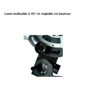 Leman LOSST315 - Scie sur table de chantier à chariot 315mm 2200W