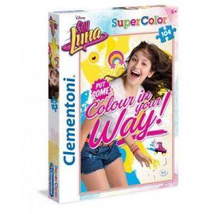 Clementoni Puzzle Super Color Soy Luna 104 pièces