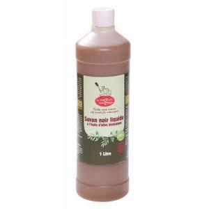La droguerie écologique Savon Noir Liquide à l'Huile d'Olive bio 1L