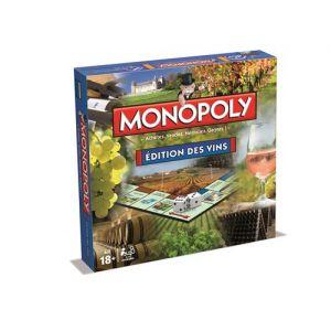 Winning Moves Monopoly : édition des vins
